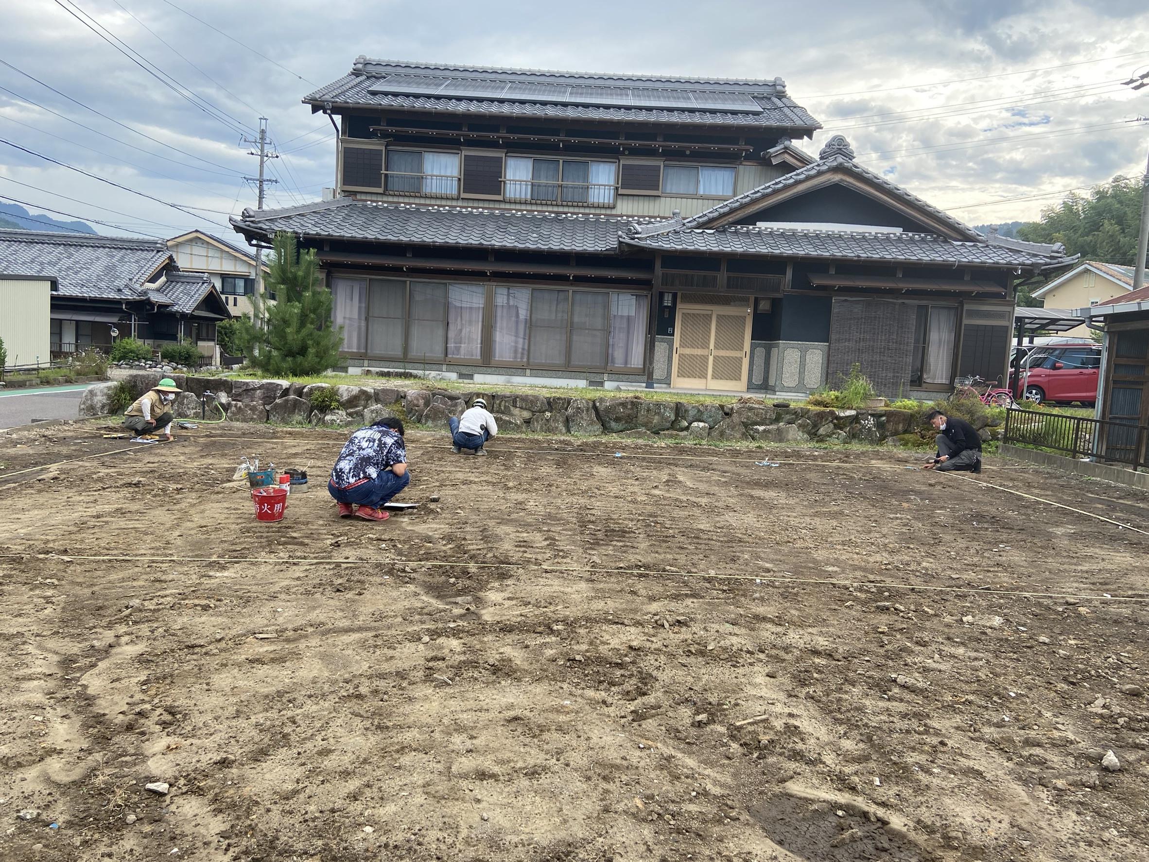 岐阜県K町KN様邸地盤改良工事画像